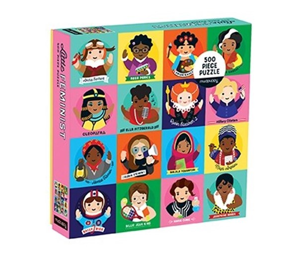 Little Feminist 500 Piece Family Puzzle