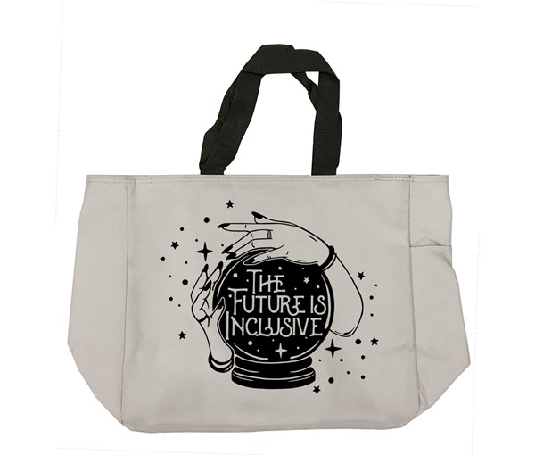 The Future is Inclusive Tote Bag (Grey)