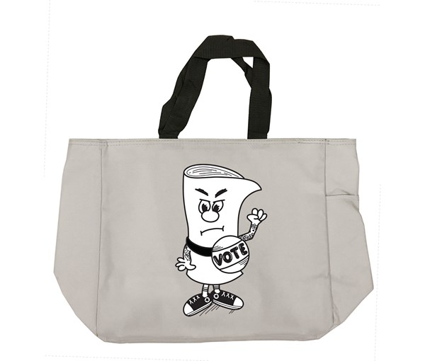 Vote Tote Bag (Grey)