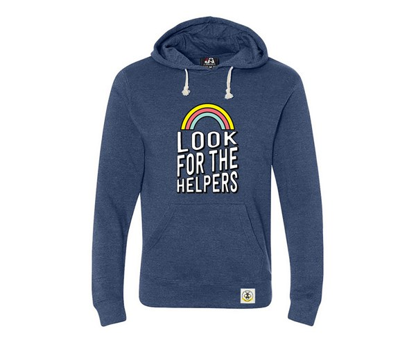 Look for the Helpers Adult Unisex Hoodie (Navy)