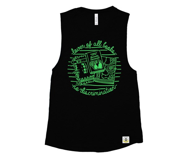 Book Lover (Adult Muscle Tanks)