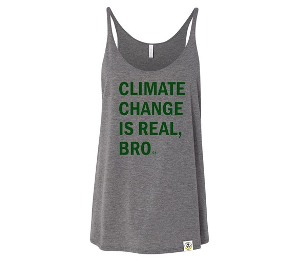 Climate Change (Adult Slouchy Tanks)