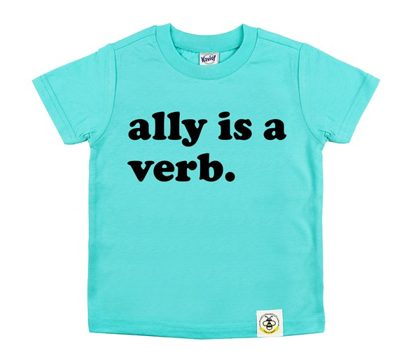 Ally is a Verb (Caribbean Blue)