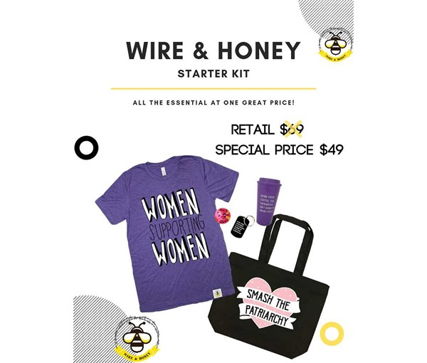 Wire and Honey Starter Pack