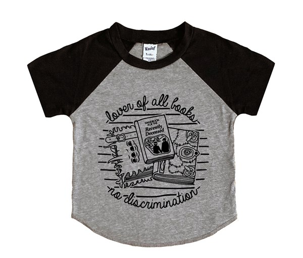 Book Lover (Kids Short Sleeve Raglan)