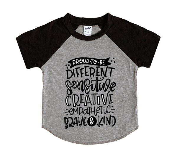 Proud to Be (Kids Short Sleeve Raglan)