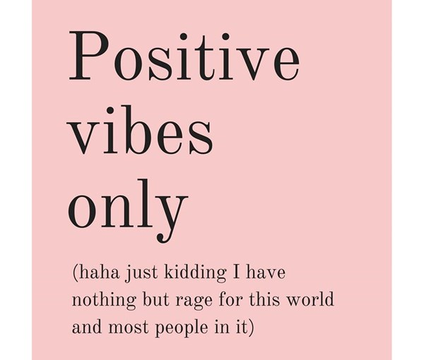 Positive Vibes Magnet