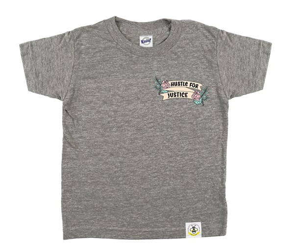 Hustle for Justice (Grey)