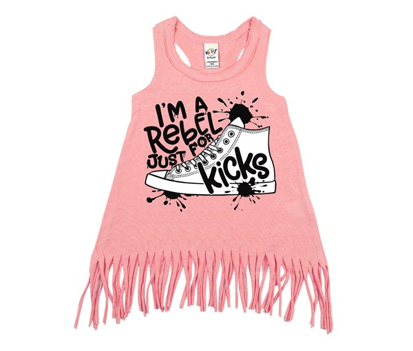 Rebel Just for Kicks Kids Fringe Dress