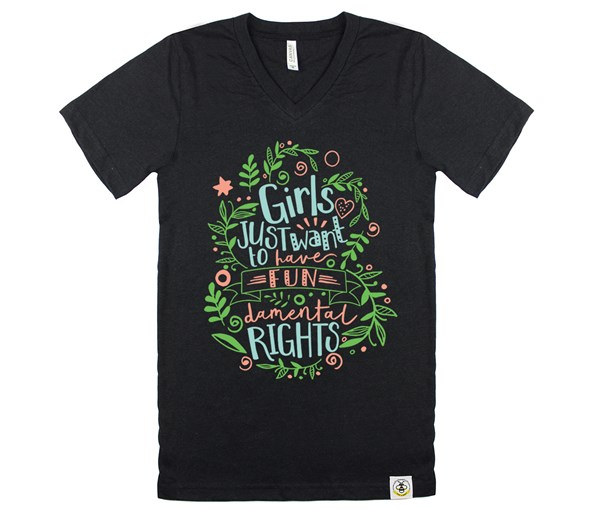 Fundamental Rights Adult V-Neck