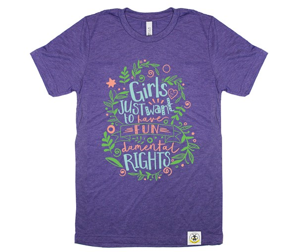 Fundamental Rights Adult (Purple)