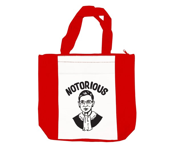 Notorious Tote Bag (Red/White)
