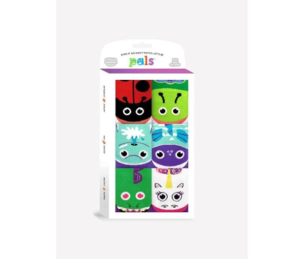 Pals Socks: Funky Friends Mismatched Gift Box
