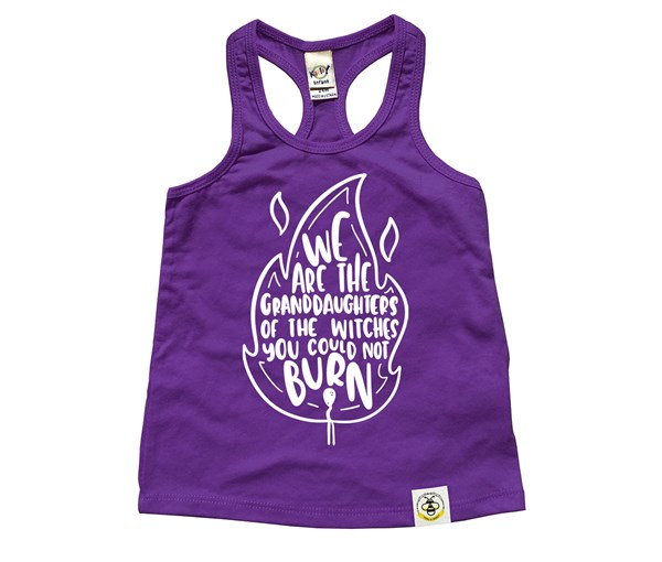 Granddaughters Racerback Tank (Purple)