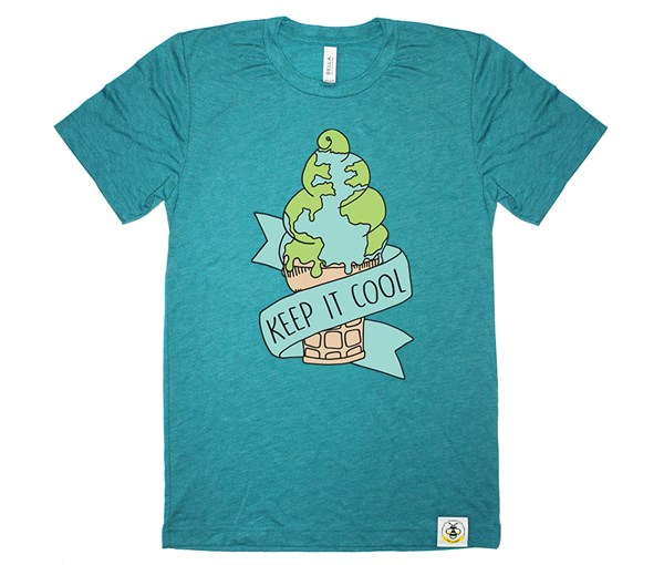 Keep it Cool Adult Crew (Teal)