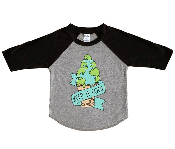 Keep it Cool (Kids Raglan)