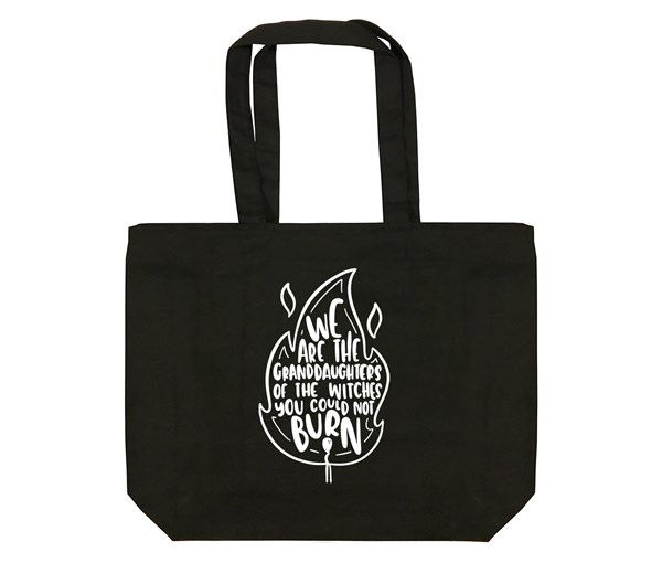 Granddaughters Tote Bag (Black)