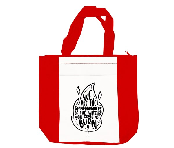 Granddaughters Tote Bag (Red/White)