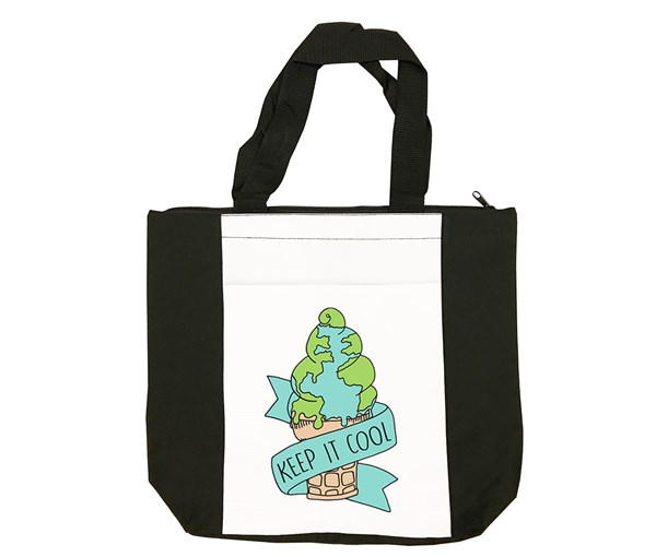 Keep it Cool Tote Bag (Black/White)