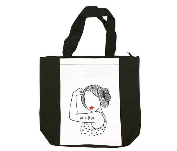 Be a Force Tote Bag (Black/White)