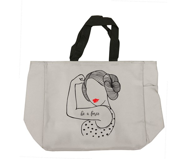 Be a Force Tote Bag (Grey)
