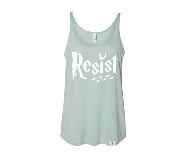 Resist (Adult Slouchy Tanks)