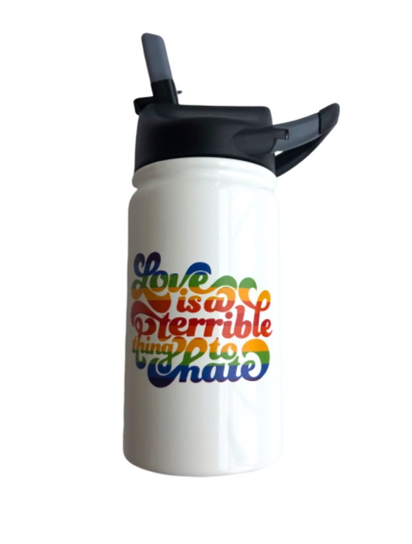 Love is a Terrible Thing to Hate Kids Tumbler