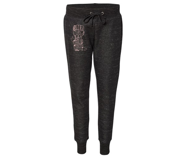 Equality Fist Joggers (Black)