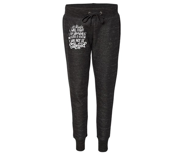 Not Silenced Joggers (Black)