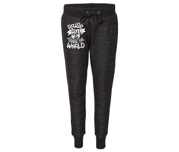 Raise Hell Joggers (Black)