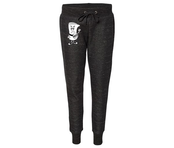 Schoolhouse Vote Joggers (Black)