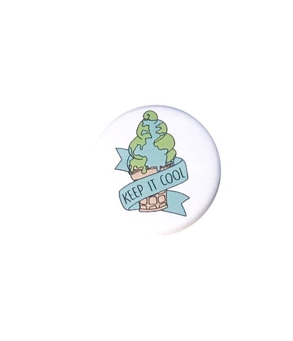 Keep it Cool Pin-back Button