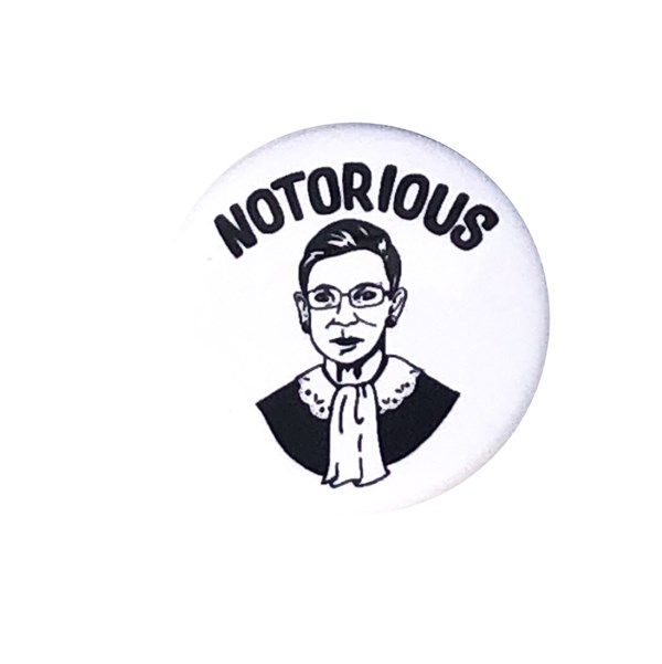 Notorious Pin-back Button