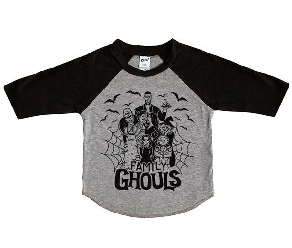 Ghouls Raglan (Grey/Black)