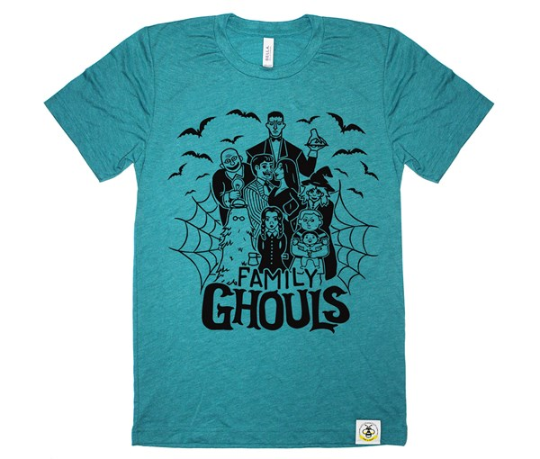Ghouls Adult Crew (Teal)