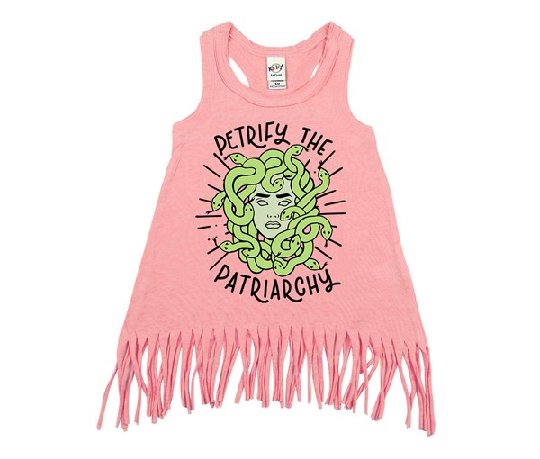 Petrify the Patriarchy (Kids Fringe Dress)
