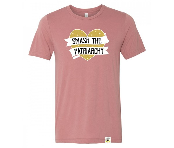 Smash the Patriarchy Adult (Mauve, Limited Edition Gold)