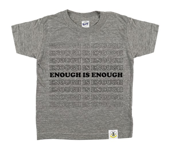 Enough (Grey/Black)