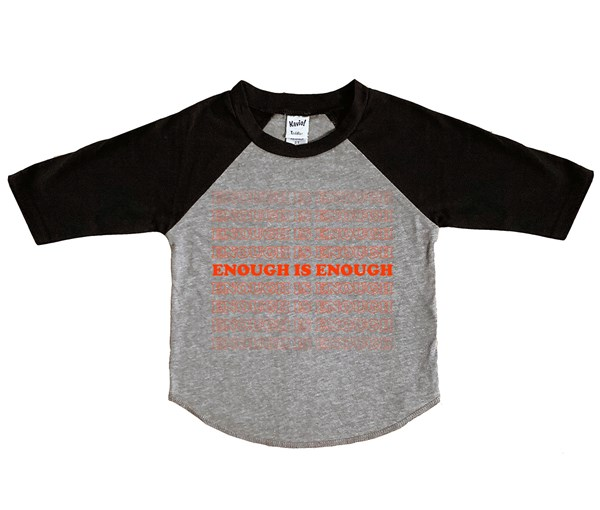 Enough Kids Raglan
