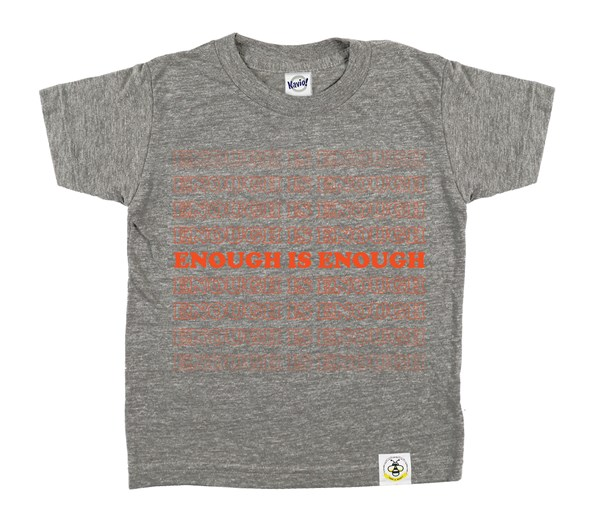Enough (Grey/Orange)