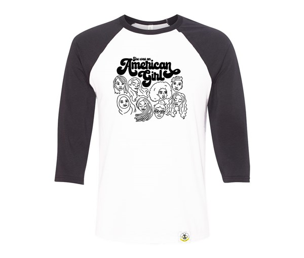 American Girl Adult Raglan