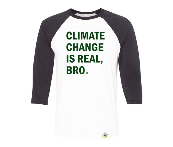 Climate Change Adult Raglan