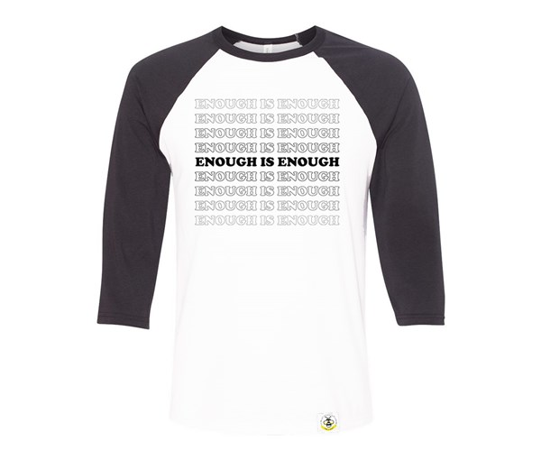 Enough Adult Raglan