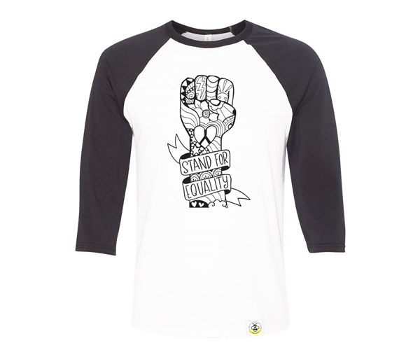 Equality Fist Adult Raglan