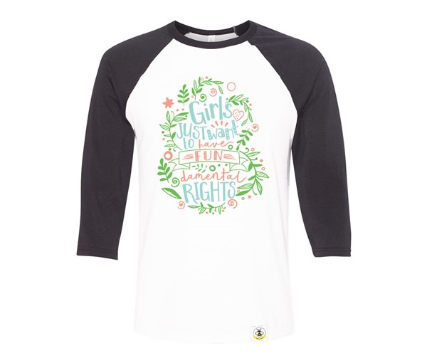 Fundamental Rights Adult Raglan
