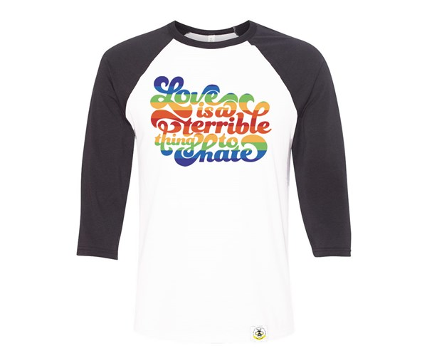 Love is a Terrible Thing to Hate Adult Raglan