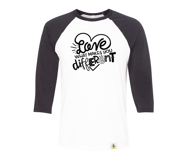 Different Adult Raglan