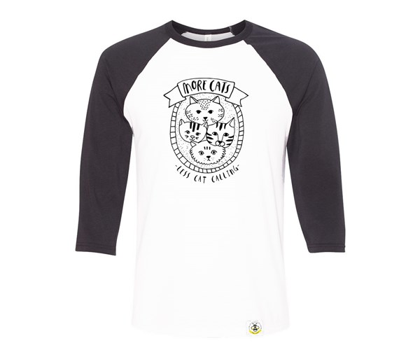 More Cats Adult Raglan