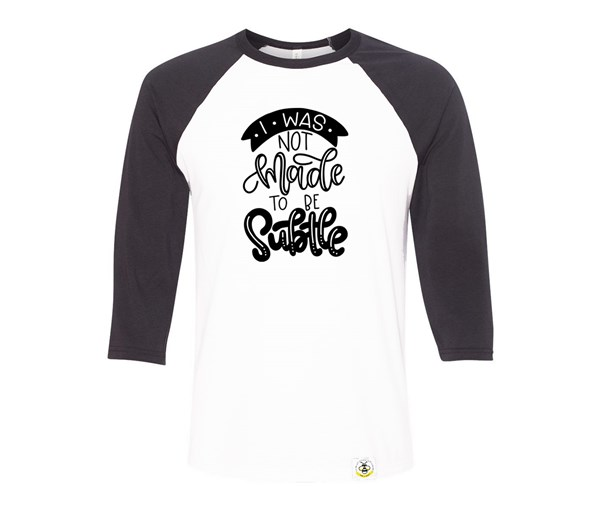 Subtle Adult Raglan