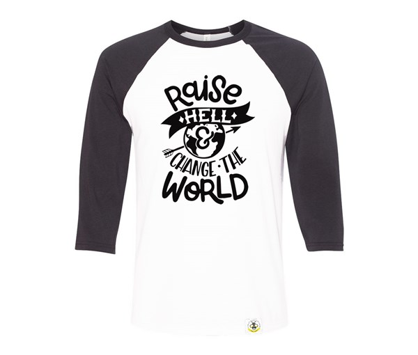 Raise Hell Adult Raglan